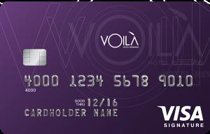 The VOILÀ Hotel Rewards Visa Signature Card