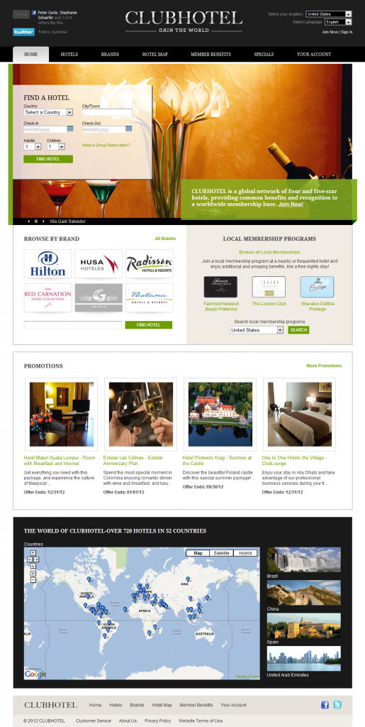 CLUBHOTEL - Exclusive worldwide hotel and dining benefits